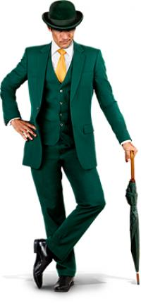 Mr Green Maskottchen