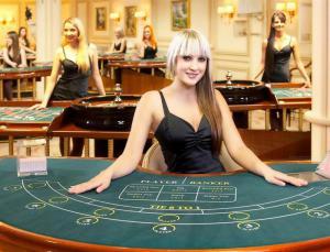 Dealerin im Live Casino
