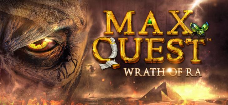 Max Quest Wrath of Ra von Betsoft