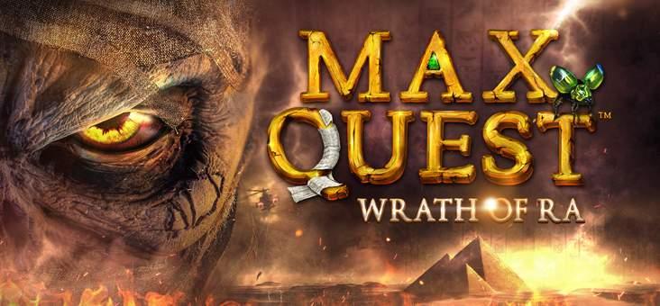 Max Quest Wrath of Ra von Betsoft